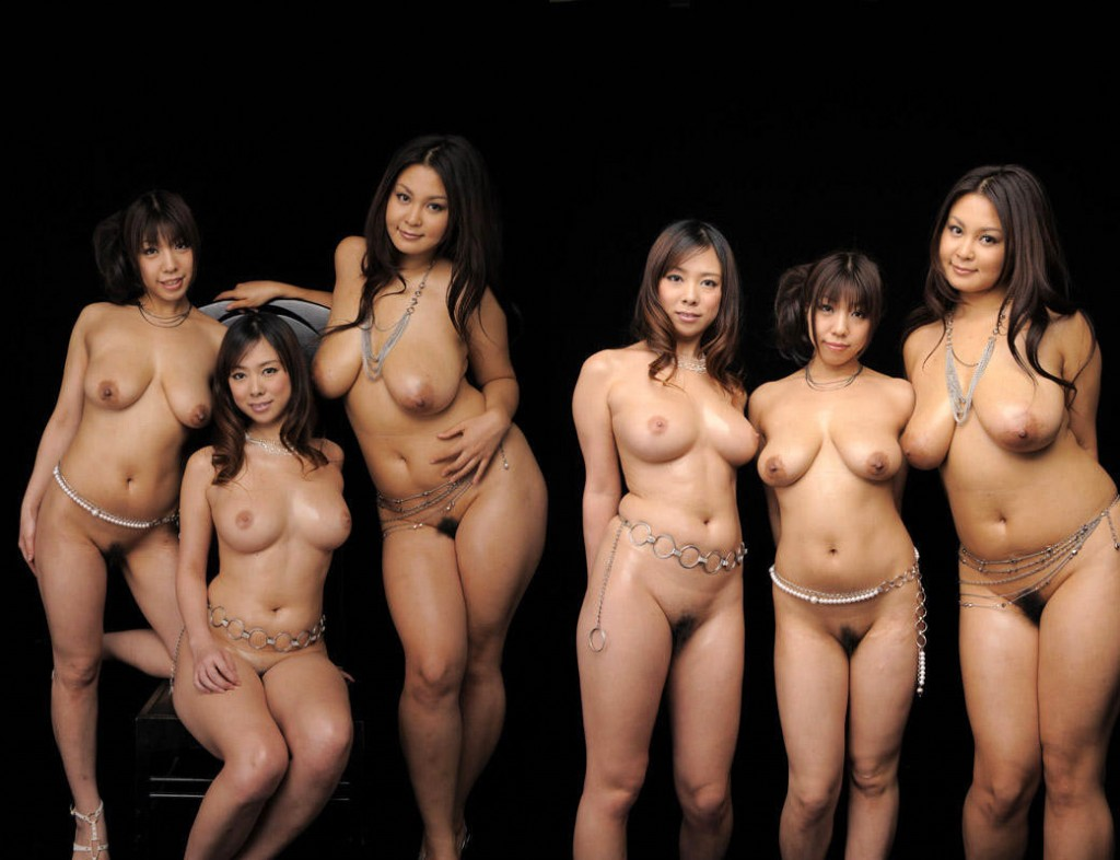 Nude japanese group — pic 3