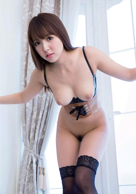 Ex-SKE48 idol Momona Kito (Yua Mikami) does another hair ...
